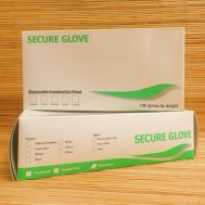 Secure Glove, Small, Green Color, Other Type (NBR)