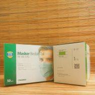 Masker Bedah Tali / Tie On 3 ply (Green)