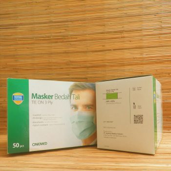 Masker Bedah Tali / Tie On 3 ply (Green)