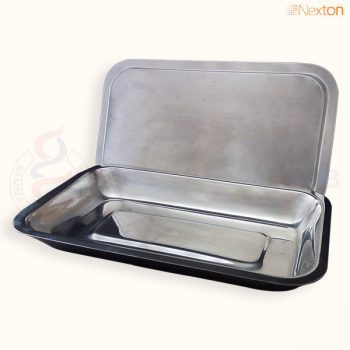 Instrument Tray with Lid S/S Polished