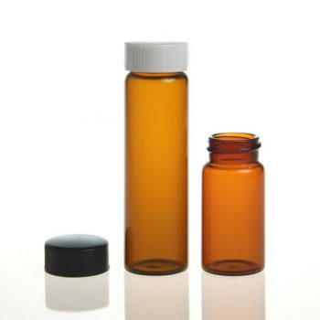 20 mL, Amber Glass, EPA VOA Vial, 100pcs/pack