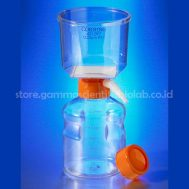 500 mL Vacuum Filter/Storage Bottle System, 0.22 µm Pore 33.2cm² CA Membrane, Sterile,