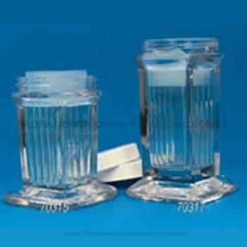 10-slide unit coplin jar, screw cap 4/cs