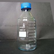 Laboratory Bottle, PP Blue Screw Cap 1000ml