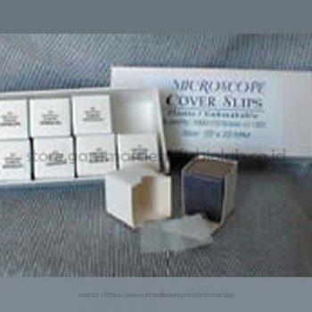 Rinzle Plastic Coverslips Size : 18×18 mm