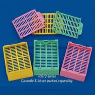 Slotted Cassette, Green Lids Attached 1 Dus isi 1000 pcs