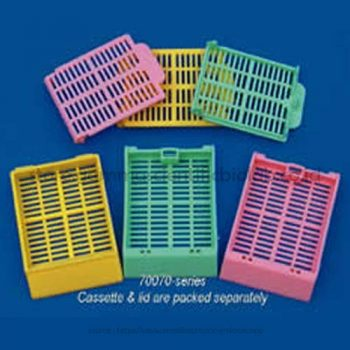 Slotted Cassette, Pink, Lids on Side 1 Dus isi 1000 pcs