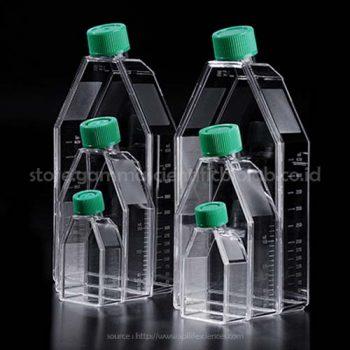 Tissue Culture Flask w/ Filter Cap, 25cm2, PS Sterile, 5pcs/PK, 200pcs/CS