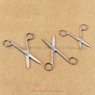 Surgical Scissors, Stainless Steel, Sharp/Sharp, Straight, 5 1/2 in