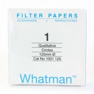 Filter Paper 125mm No.1 (WHATMAN)