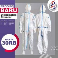 Disposable Coverall (Alat Pelindung Diri – APD)