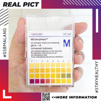PH Indicator pH 0-14 (M.1.09535.0001) – Kertas Lakmus