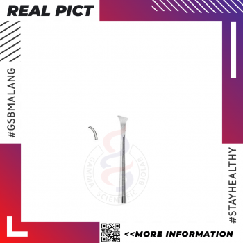 Curette (Darby-Perry) S/S Fig. 1R Satin/Polished – NEXTON